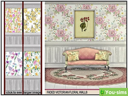 Обои Faded Victorian Floral от marcorse