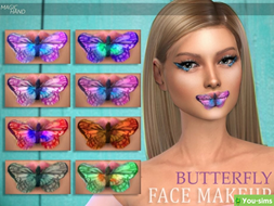 Помада Butterfly от MagicHand