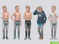 Джинсы Baby Rocket Denim от McLayneSims