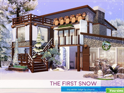 Дом The First Snow от Lhonna