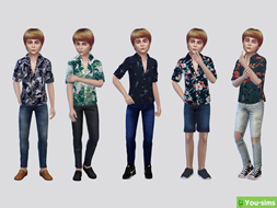 Рубашка True Colors Printed от McLayneSims