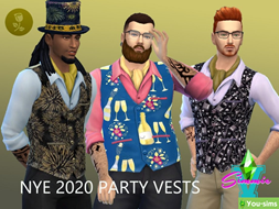 Жилетка 2020 New Year Party от SimmieV
