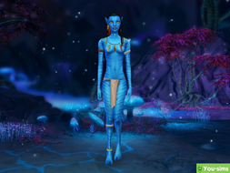 Костюм Neytiri Avatar Body от KikiSimLive