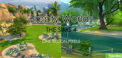 Пустые города Oasis Springs и Willow Creek от One Billion Pixels