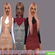 Платье Stephany Slip от mayhem-sims