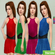 Платье Sleeveless Colorblock от lillka