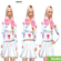 Свитер и юбка summer outfit emoji white от sweetsims4